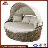 Classic sur vente lit rond en rotin jardin050049 Furniturefor Outdoor (WF)