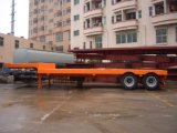 Semitrailer de 2axles Lowdeck