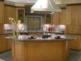 Armário de cozinha sólidos de madeira de ácer (JX-KCSW027)