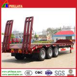 Haute qualité Low-Loader camion remorque 3 essieux