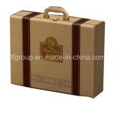 La promotion des ventes de bonne qualité du vin en cuir polyuréthane PU transporteur