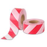 工場価格の赤くか白い縞の注意テープ