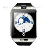 intelligentes Telefon der Uhr-3G mit Puls und wasserdichtes Q18 plus