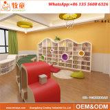 Jogos prées-escolar internacionais luxuosos da mobília da biblioteca do quarto de leitura do jardim de infância