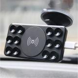 Заряжатель автомобиля самого нового способа беспроволочный для мобильного телефона, стандарта Qi на iPhone 8