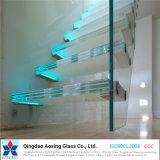 低価格は階段のための強くされたガラスを薄板にした