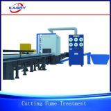 Linha de produção omnipotente máquina de estaca robótico do CNC para processar as tubulações de aço e os perfis