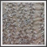 網の刺繍のレースポリエステル刺繍のレースのテュルの刺繍のレース