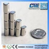De cilindrische Sterkte van de Magneten van het Neodymium N48 van de Magneten van het Neodymium