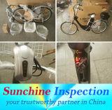 Servizi di controllo di controllo di qualità della E-Bici a Zhejiang, Guangdong, Jiangsu e Tianjin