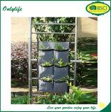 Onlylife feutre en tissu jardin extérieur jardinières murales verticales