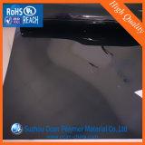 лист PVC 1.0mm 1.5mm черный Matt твердый для защитного чехла