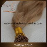 Uitbreidingen van het Menselijke Haar van de Keratine Remy van Whoelsale van de fabriek de Braziliaanse Maagdelijke