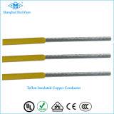 UL1882 enrarecen el cable de alta temperatura cubierto Teflon de PFA