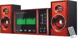 2.1 Altoparlante di multimedia per il teatro domestico con controllo di FM/SD/USB/MMC/Remote/funzione di karaoke/Bluetooth (bacino del iPod di Q35with)