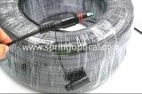 Optitap Sc/APC SimplexSm 5.0mm het Dubbele Koord van het Flard van de Vezel van de Schede Optische