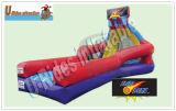 Precio al por mayor juego de baloncesto Slam Dunk Puerta Baloncesto inflables para eventos