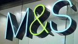 Système au détail de marque annonçant les lettres acryliques fabriquées d'intérieur extérieures de la Manche d'alphabet du signe 3D de DEL