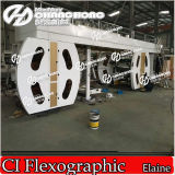 유리제 Paper Flexo Printing Machine 또는 Flexographic Printing Machine Superthin Paper