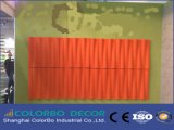 Панель украшения стены доски MDF 3D