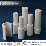 Chemshun керамики 95% воздействие износостойкими глинозема керамические трубы