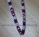 Singelband de van uitstekende kwaliteit van de Jacquard van de Polyester voor de Toebehoren van de Zak