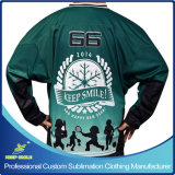 Ice Hockey GameのためのカスタムSublimation Printing Ice Hockey Garment