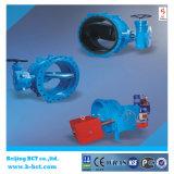Flange Type Metal Seated Double Eccentric Ball Valve, corpo de ferro Ductile Bct-E-BV04