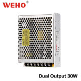 D-30W 30watt double alimentation électrique de commutation