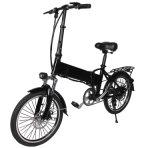 """Bici piegata elettrica della grande gomma 20 """" con velocità 25km/H"""