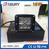 De Auto Lichte 18W LEIDENE van de Motor van de Fabriek CREE Lamp van het Werk voor Auto