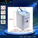 4*18W Rgbaw UV6in1 Batterie DMX drahtloses NENNWERT Licht des Würfel-vier