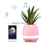 De slimme Spreker van Bluetooth van de Pot van de Muziek met 7 LEIDEN van de Kleur Licht