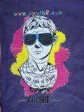 Camiseta de Byc, materia textil, precios de la impresora de la tela