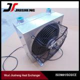 Refrigerador de petróleo hidráulico de aluminio del excavador de la placa de la barra