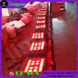 20X12W DMX Iluminação Cénica Plano Outdoor RGBW LED PAR