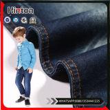 Tela tejida venta al por mayor del dril de algodón de la tela de los pantalones vaqueros de la alta calidad