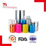 contenitore di imballaggio di plastica dell'argento dell'HDPE 500ml per il supplemento dietetico