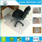 Azulejos de la alfombra del PVC del precio bajo, rodillo de la estera de la alfombra del suelo de la silla del PVC