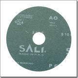 ディスク、P60磨く金属のファイバーディスクを紙やすりで磨くYongkangの製造の研摩剤