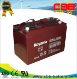 bateria do UPS da bateria solar da bateria do AGM de 12V 100ah