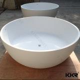Venda por grosso de pedra artificial banheira redonda independente