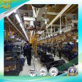 Transportación de la planta de fabricación del coche