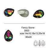 수정같은 보석 부속품은 푼다 공상 돌 구슬 (DZ-3003)를