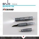 Linterna táctica de la pluma W/LED de la Multi-Herramienta Tp08, cuchillo, humo de arma de la extremidad del tungsteno
