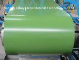 A chapa de aço galvanizada Prepainted/cor revestiu a bobina de aço