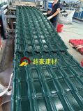 Hoja plástica del material para techos del azulejo del PVC del ASA de los materiales de construcción de las muestras libres