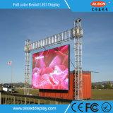 연주회를 위한 고성능 P4.81 옥외 임대료 LED 단말 표시