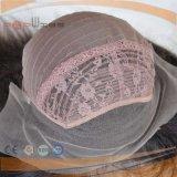Parrucca brasiliana del merletto della parte anteriore della parrucca del merletto dei capelli con la parte posteriore della trama
