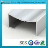 Profil en aluminium de l'Afrique du Sud avec la couleur facultative personnalisée de taille